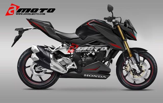 Renderan Honda CBR250RR Naked
