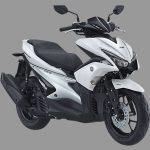 yamaha aerox 155 s version warna putih