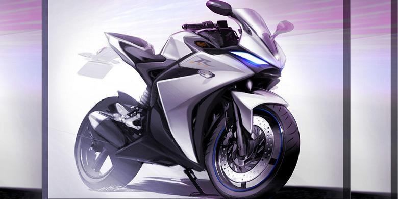 renderan desain yamaha r25 facelift 2017 by motoblast