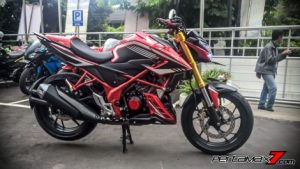 All New Honda CB150R Pakai Upside Down Ban Gambot 1