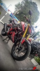 All New Honda CB150R Pakai Upside Down Ban Gambot 4