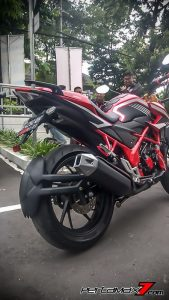 All New Honda CB150R Pakai Upside Down Ban Gambot 5