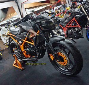 5 Modifikasi Honda All New CB150R LED