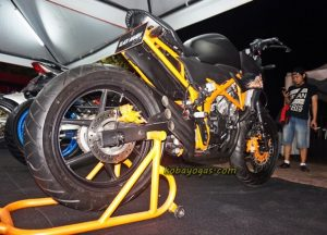 Modifikasi All New CB150R 3 Silinder 3