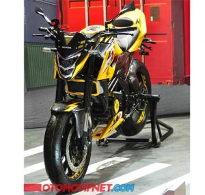 Modifikasi All New CB150R Moge Look 6