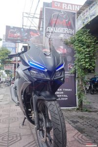 Modifikasi Honda All New CB150R Pakai Fairing CBR250RR 1