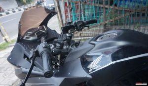 Modifikasi Honda All New CB150R Pakai Fairing CBR250RR 2