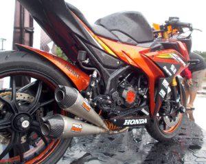 Modifikasi Honda All New CBR150R By BMS 8
