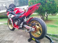 Modifikasi Honda All New CBR150R kaki tapak lebar 3