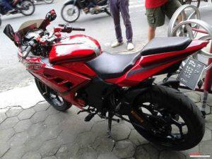 Modifikasi Honda Verza Fairin Ala Ninja 250fi 2