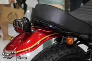 Modifikasi Scrambler Honda Verza 1