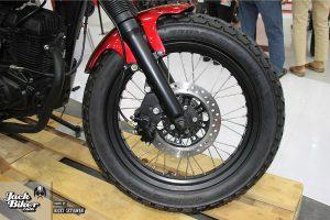 Modifikasi Scrambler Honda Verza 12