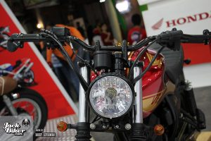 Modifikasi Scrambler Honda Verza 5