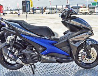 Modifikasi Yamaha Aerox 155 VVA Sporty From Thailand 1