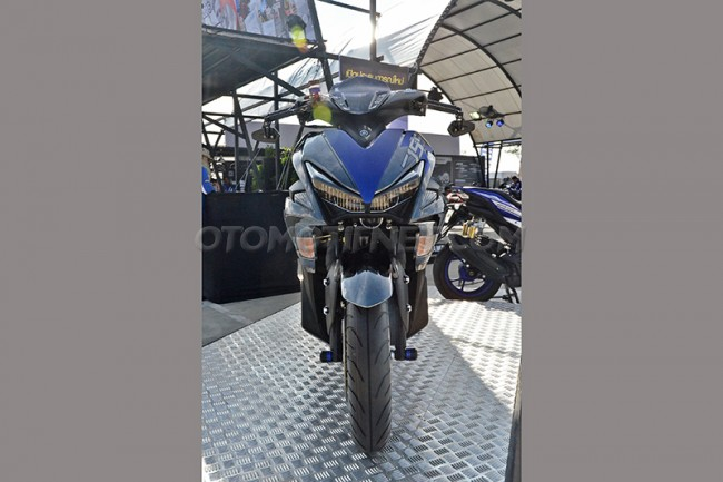 Modifikasi Yamaha Aerox 155 VVA Sporty From Thailand 6