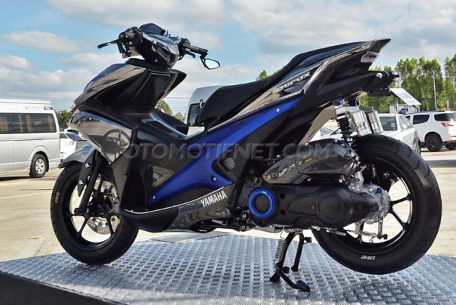 Modifikasi Yamaha Aerox 155 VVA Sporty From Thailand 8