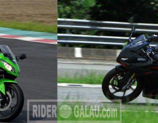 Ninja 250 FI VS All New CBR250RR