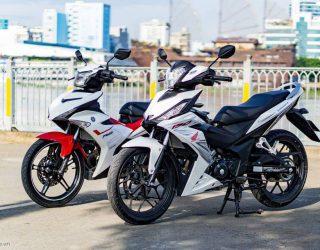 Yamaha MX King 150 VS Honda All New Supra GTR 150