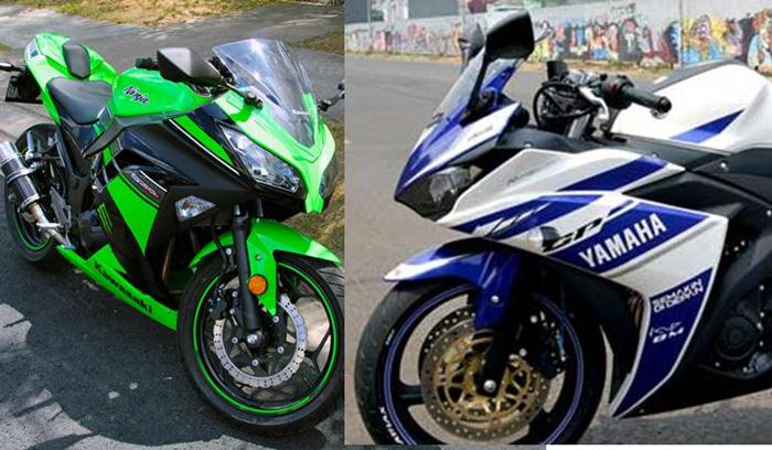 Yamaha R25 VS Kawasaki Ninja 250 FI