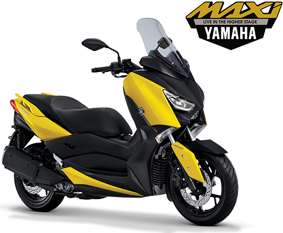 Yamaha Xmax 250 Yellow Kuning