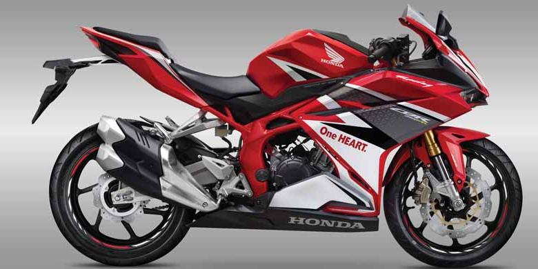 All New CBR250RR Racing Red Standar