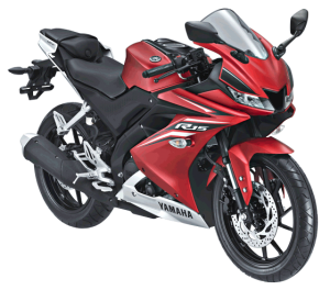 2017 Yamaha All New R15 Matte Red