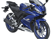 2017 Yamaha All New R15 Racing Blue