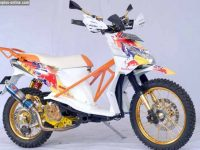 Honda BeAT Modifikasi Gaya Grasstrack 1