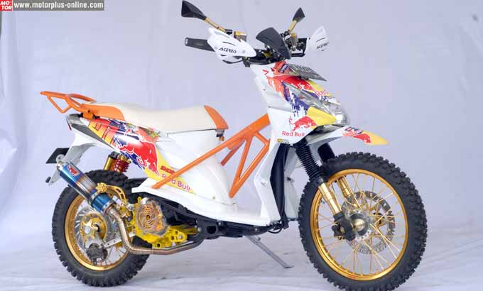 4 Galeri Foto Modifikasi Honda Beat Ridergalau