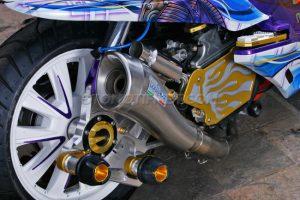 Honda PCX 150 Juara Nasional Honda Modif Contest 2016 5