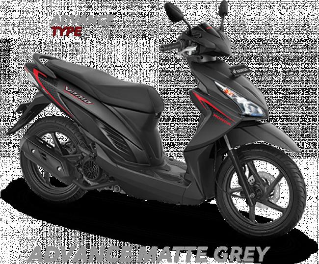 Honda Vario 110 ESP 2017 Matte Grey