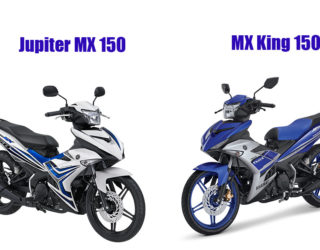 Jupiter MX 150 VS MX King 150