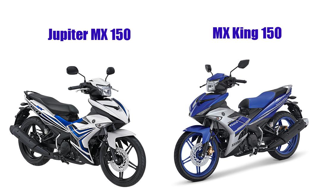 Jupiter MX 150 VS MX King 150