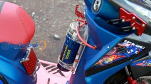 Modifikasi Honda Beat Baby Amerika 3
