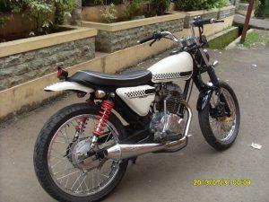Modifikasi Honda Megapro Jap Style 1