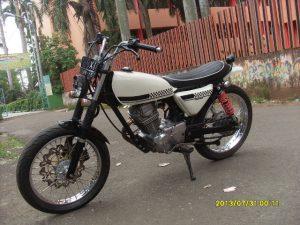Modifikasi Honda Megapro Jap Style 3