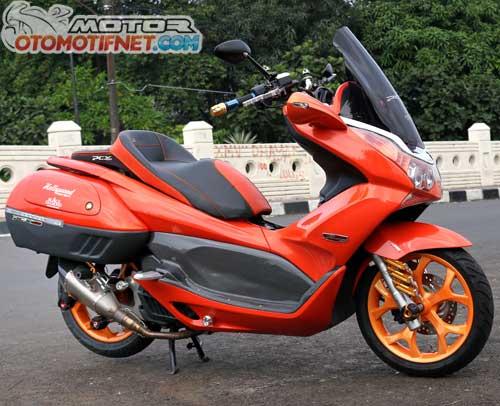 Modifikasi Honda PCX 150 Part Serba PNP 1