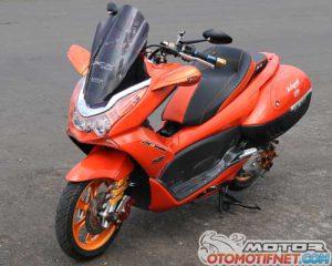 Modifikasi Honda PCX 150 Part Serba PNP 6