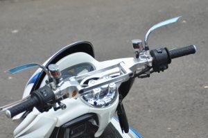 Modifikasi Honda PCX 150 Simpel Minimalis 7