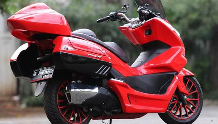 Modifikasi Honda Pcx  Touring