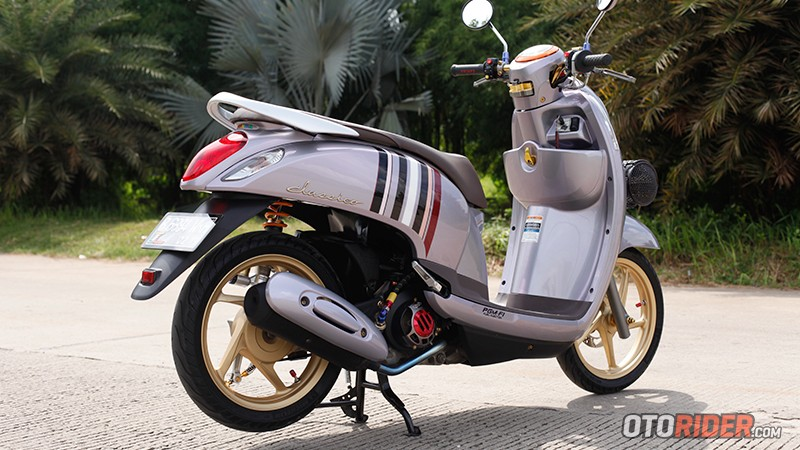 Modifikasi Honda Scoopy, Simpel Anti Thailook 2