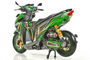 Modifikasi Honda Vario 150 ESP Air Brush Gambot 3