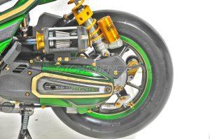 Modifikasi Honda Vario 150 ESP Air Brush Gambot 4