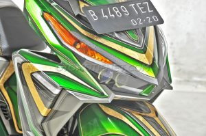 Modifikasi Honda Vario 150 ESP Air Brush Gambot 5