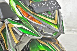 Modifikasi Honda Vario 150 ESP Air Brush Gambot 5
