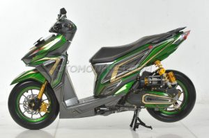 Modifikasi Honda Vario 150 ESP Air Brush Gambot 6