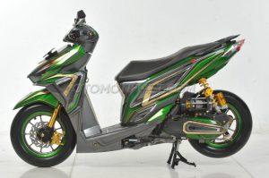 Modifikasi Honda Vario 150 ESP Air Brush Gambot 6