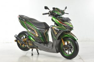Modifikasi Honda Vario 150 ESP Air Brush Gambot 7