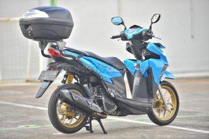 Modifikasi Honda Vario 150 eSP Buat Turing 1