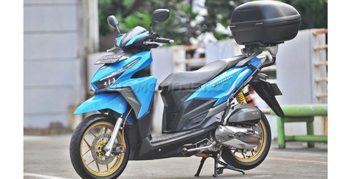 Modifikasi Honda Vario 150 eSP Buat Turing 2